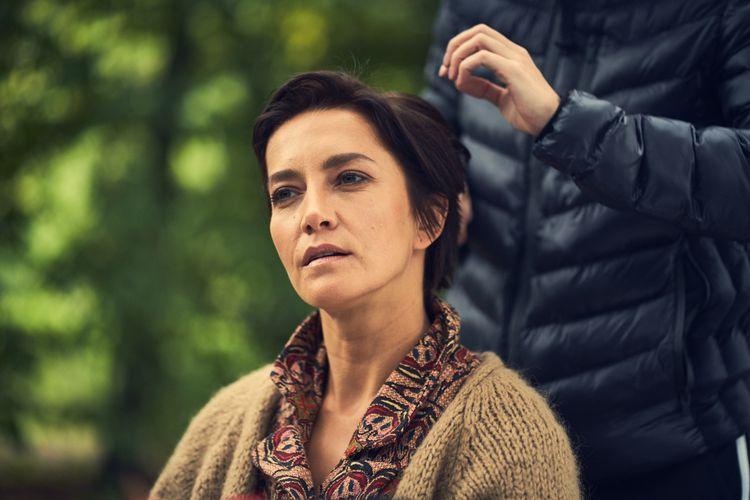 """Kamilla Baar naplanie filmu """"Chodźmy wnoc"""". Fot. Robert Ceranowicz"""