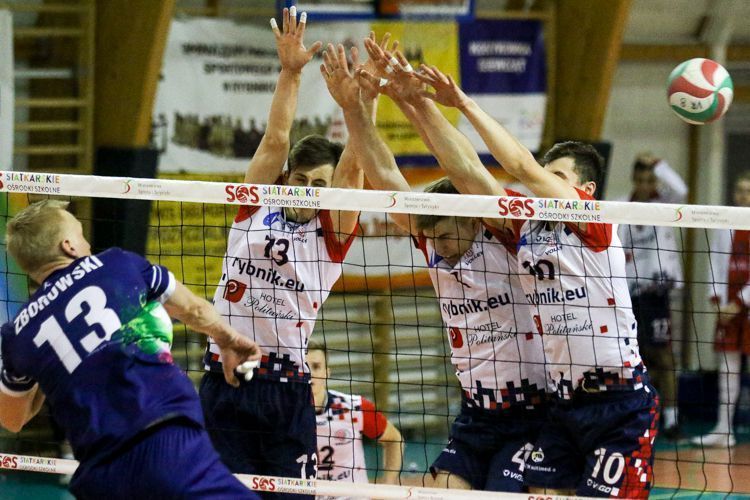 TS Volley Rybnik: weekend z TKS-em Tychy, Dominik Gajda