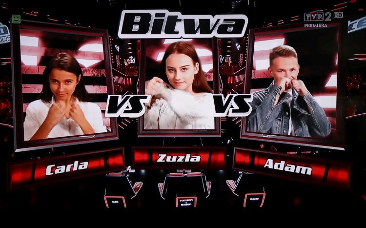 Niestety, Zuzia Grodzka z Rybnika odpadła z The Voice Kids, The Voice Kids
