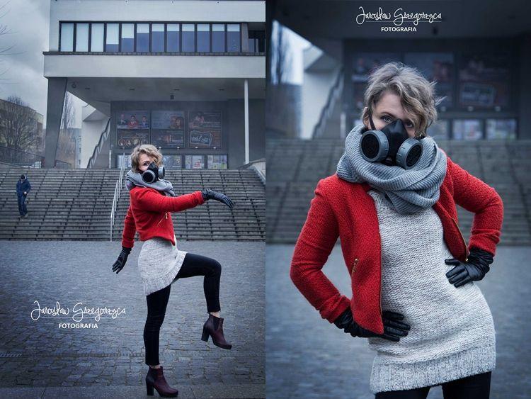 Stop Smog czyli sesja w maskach. Taki trend mody będzie obowiązywał w Rybniku?