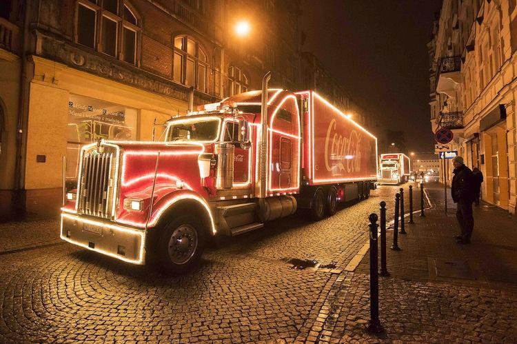 Świąteczna ciężarówka Coca-Coli przyjedzie do Rybnika
