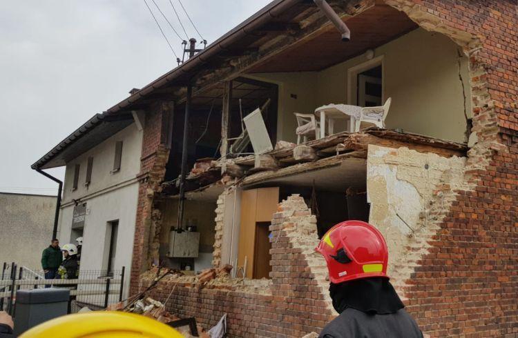 Bełk: wybuch domu. Zniknęła cała ściana!