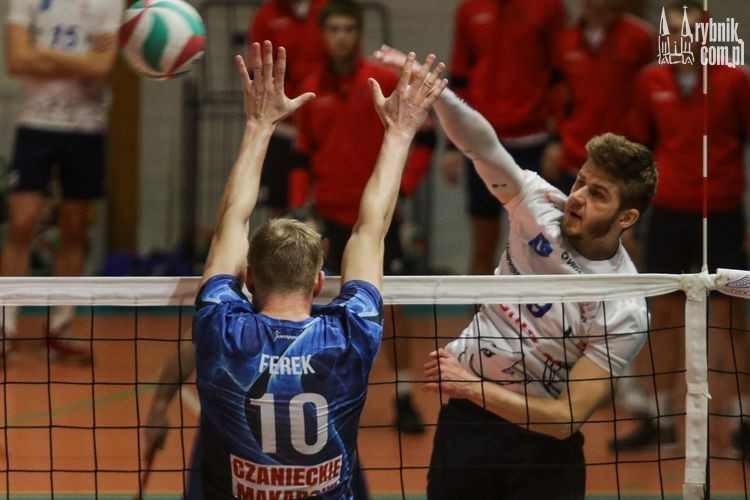 Tie-break w meczu TS Volley Rybnik - Kęczanin Kęty, Dominik Gajda