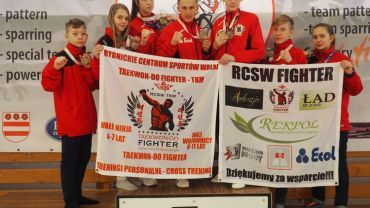 14 medali dla RCSW Fighter w Taekwon-do Presov Open