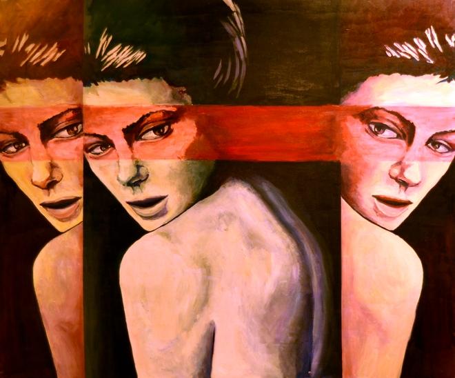 Obraz pt. ''Za tobą'' autorstwa Iwony Kołodziej