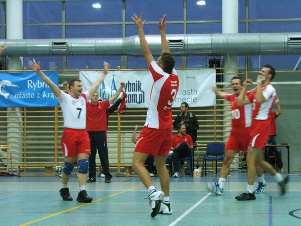 Siatkarze Wojciecha Kasperskiego utrzymali się w II lidze