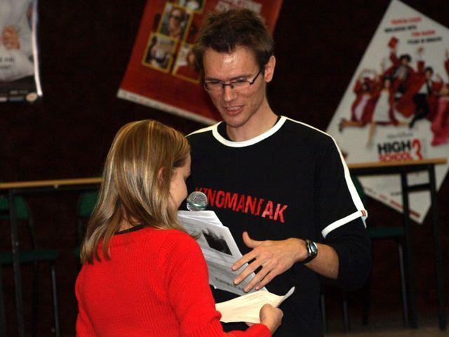 """Organizatorem """"Kinomaniaka"""" jest nasz redakcyjny kolega, Adam Doliba."""