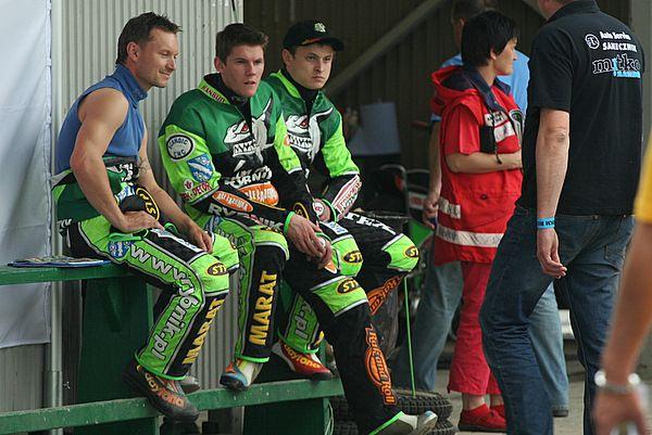 Od lewej: Mariusz Węgrzyk, Ronnie Jamroży i Andriej Karpov