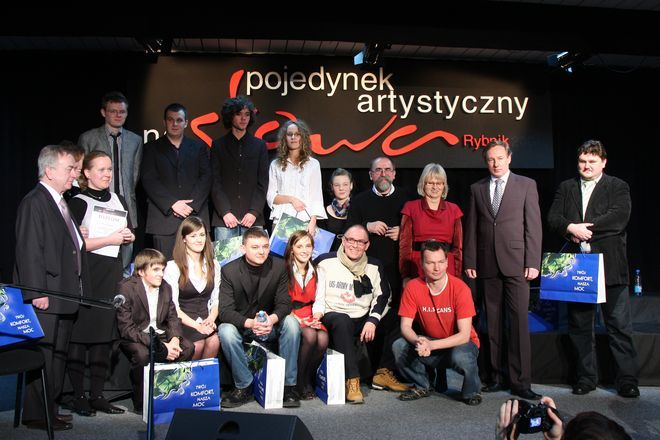 VII edycję Pojedynku Artystycznego na Słowa wygrała drużyna z Zespołu Szkół w Knurowie