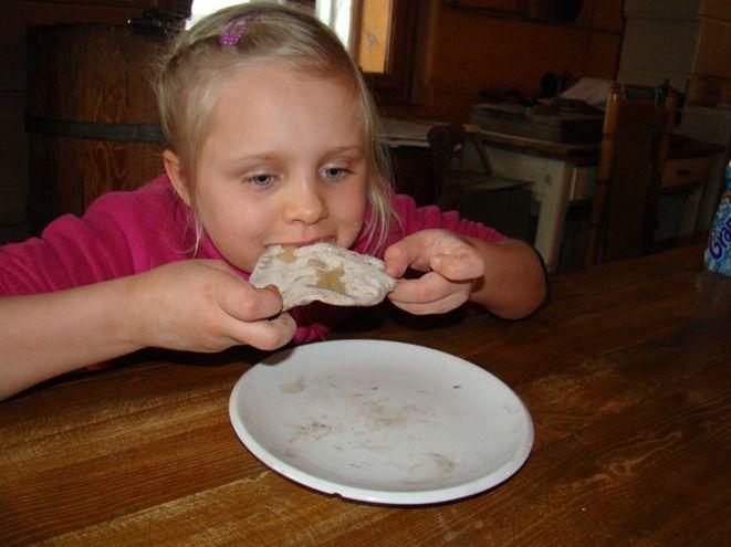 W Chlebowej Chacie dzieci same piekły chleb