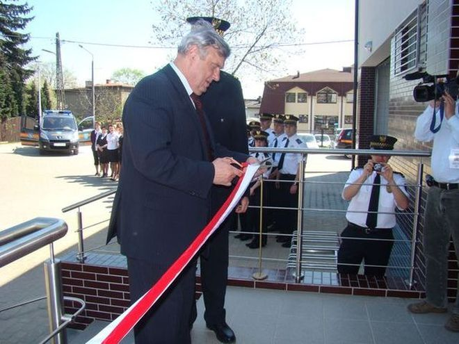 Uroczyste otwarcie nowej komendy straży miejskiej