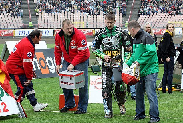 Rafał Fleger zdobył w Częstochowie 4 punkty