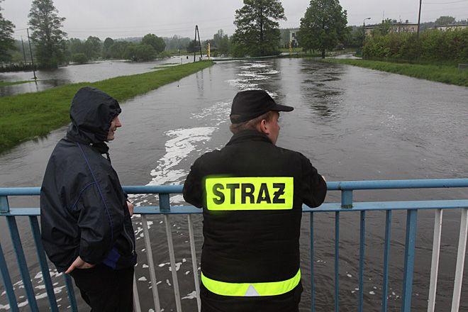 Mieszkańcy Stodół przez cały dzień z niepokojem obserwowali wodowskazy