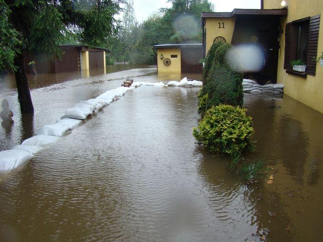 W tym roku ten problem nie dotyczy Rybnika, jednak mieszkańcy zaczynąją już odczuwać skutki ciągłych opadów deszczu