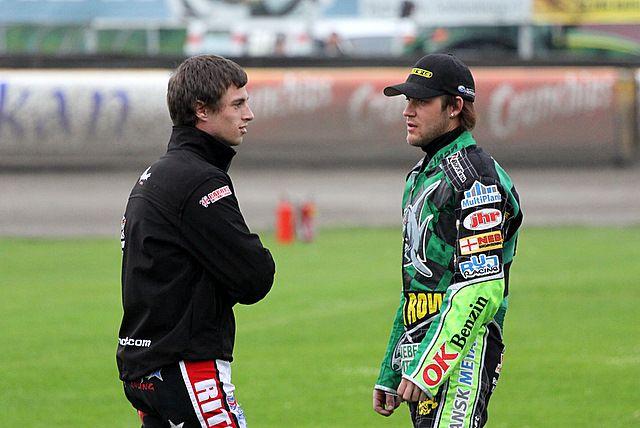 Nicolai Klindt (z prawej) zajął w reprezentacją Danii II miejsce w finale DPŚ