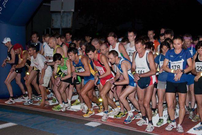 Na starcie stanęło wielu biegaczy z Rybnika i okolic