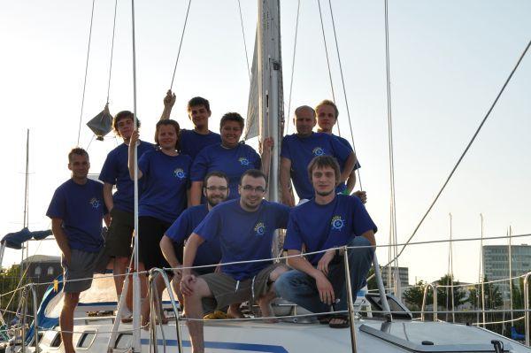 Członkowie załogi rybnickiej wyprawy