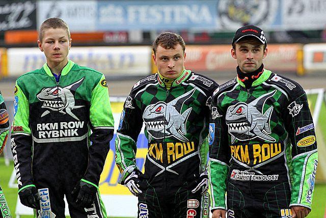 Mateusz Domański (z lewej) i Sławomir Pyszny (z prawej) nie zdobędą w tym roku tytułu indywidualnego mistrza Polski juniorów.