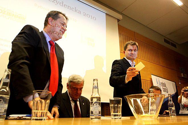 Debata kandydatów na prezydenta Rybnika w 2010 roku