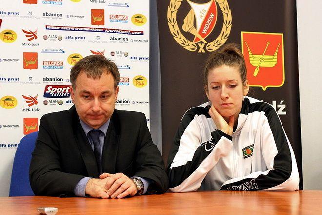 Mirosław Orczyk i Karolina Stanek na koniec sezonu mieli nietęgie miny. Jest jednak szansa, że ekstraklasa w Rybniku pozostanie.