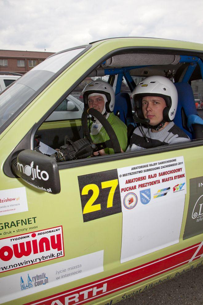 MG Rally Group przed Amatorskim Rajdem Samochodowym o Puchar Prezydenta Miasta Rybnika