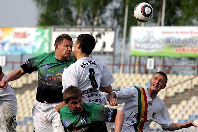 Rafał Mitura był bliski zdobycia gola głową