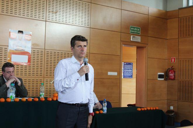 Janusz Palikot przemawiał na auli rybnickiego kampusu