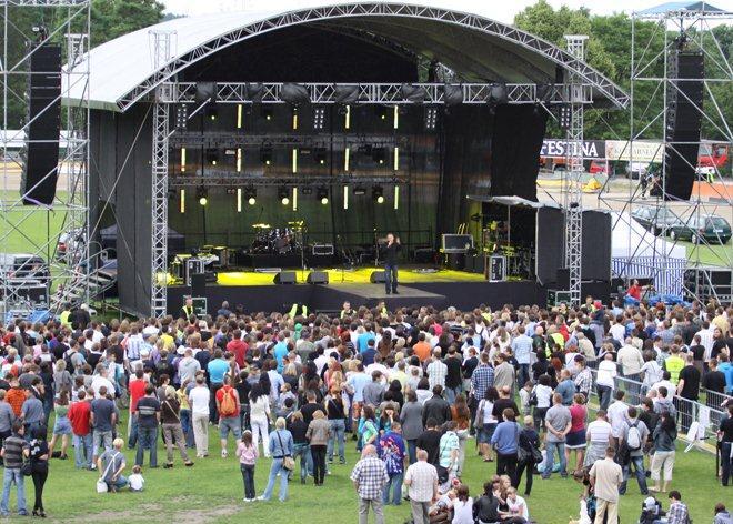 Dotychczas na stadionie przy Gliwickiej rybniczanie bawili się na koncertach i meczach. Teraz czas na strefę kibice podczas dużej imprezy piłkarskiej