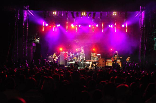 Do parku w Czerwionce przybyły tłumy fanów rocka