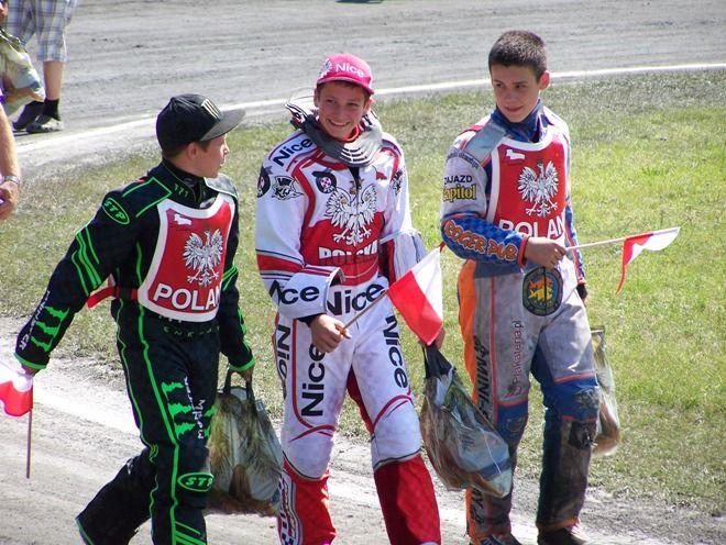 Kacper Woryna (w środku) został najlepszym zawodnikiem w Polsce