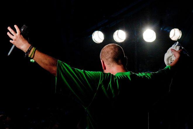 Grubson podczas niedawnego koncertu w Boguszowicach