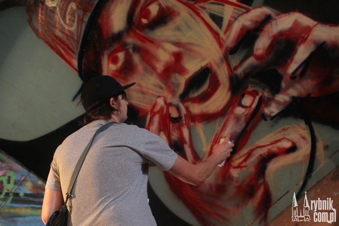 Nie zawsze graffiti jest aktem wandalizmu. Swoje hobby można bardzo pozytywnie wykorzystać