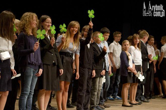 Oficjalne rozpoczęcie roku szkolnego w Rybniku odbyło się w Rybnickim Centrum Kultury