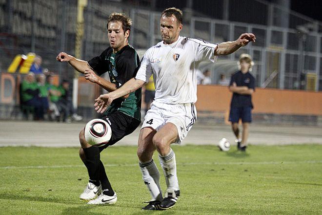 Marek Gładkowski zdobył w Jarocinie dwie bramki