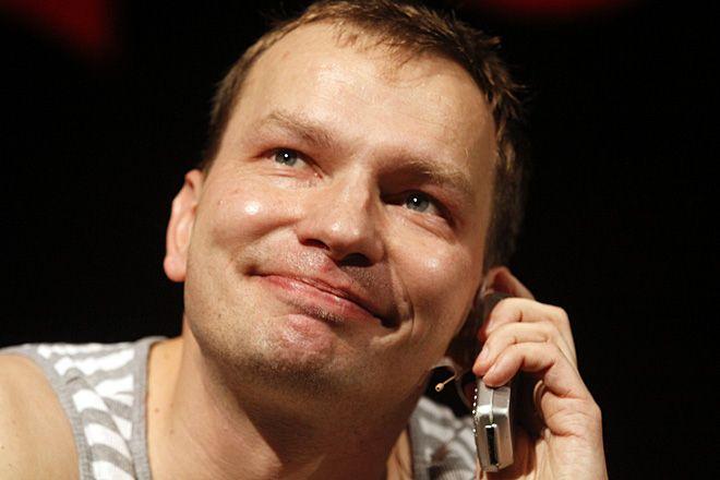 Tomasz Jachimek podczas Rybnickiej Jesieni Kabaretowej RYJEK 2011