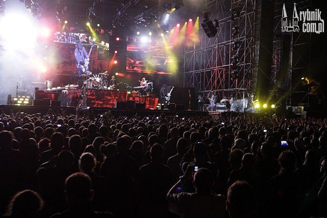 Koncerty wielkich gwiazd w Rybniku przyciągają rzesze najwierniejszych fanów