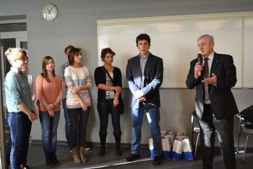 Laureaci z prezydentem Rybnika