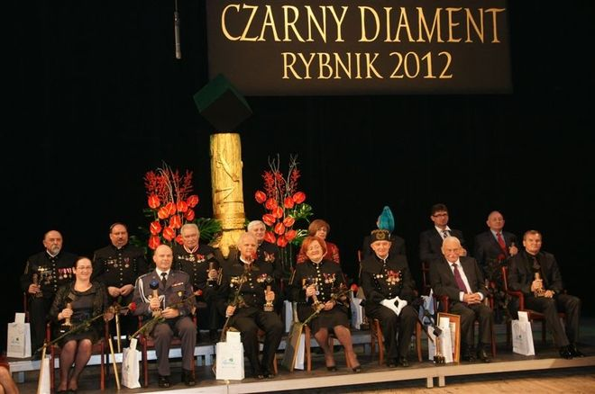 Laureaci Nagrody Czarny Diament 2012