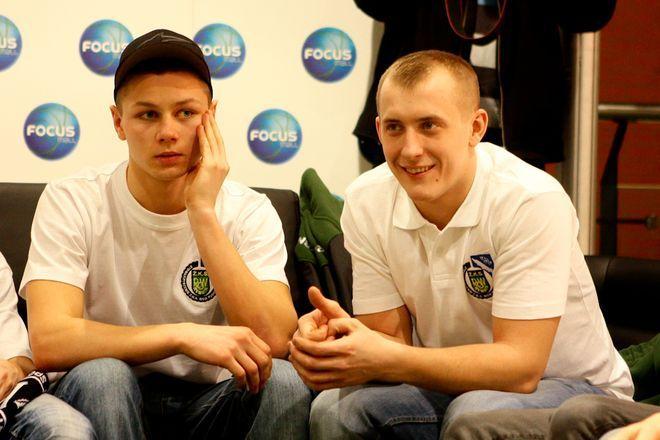 Mateusz Domański i Michał Mitko