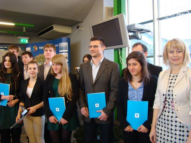 Wśród nagrodzonych zawodników z Klubu Sportowego ''Polonia'' znalazła Agata Perenc