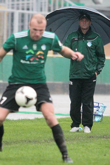 Ostatnie dni dla trenera Ryszarda Wieczorka były bardzo nerwowe