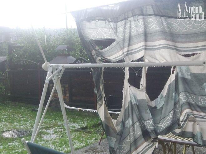 Gradobicie w minionym tygodniu wyrządziło wiele szkód w naszym mieście