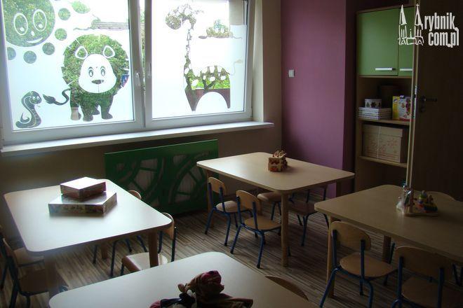 Dzieci będą mogły się bawić w kolorowych salach
