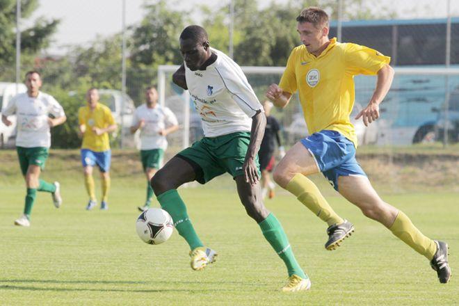 Idrissa Cissé zdobył w Olsztynie drugiego gola w tym sezonie