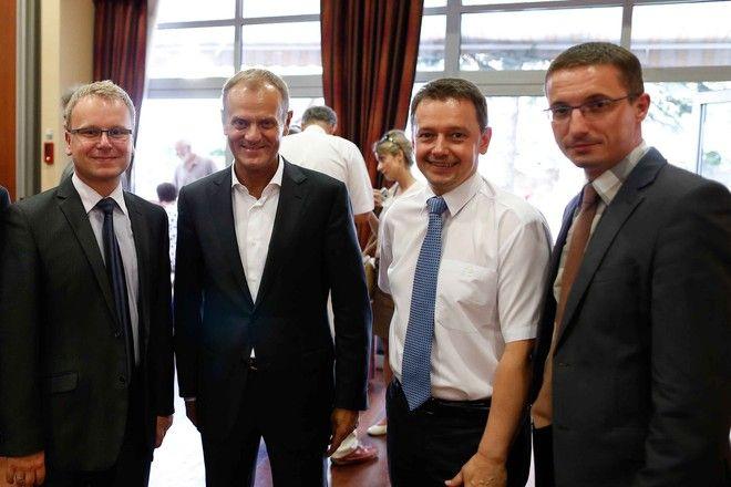 Donald Tusk przyjedzie dziś do Rybnika wesprzeć kandydata PO - Marka Krząkałę