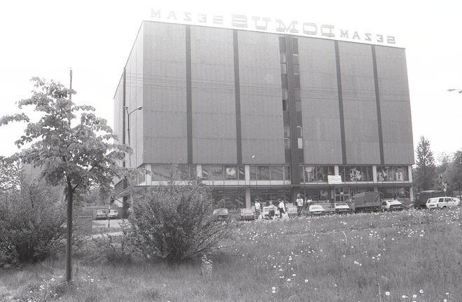 Tak wyglądał budynek Domusu w czasach PRL-u