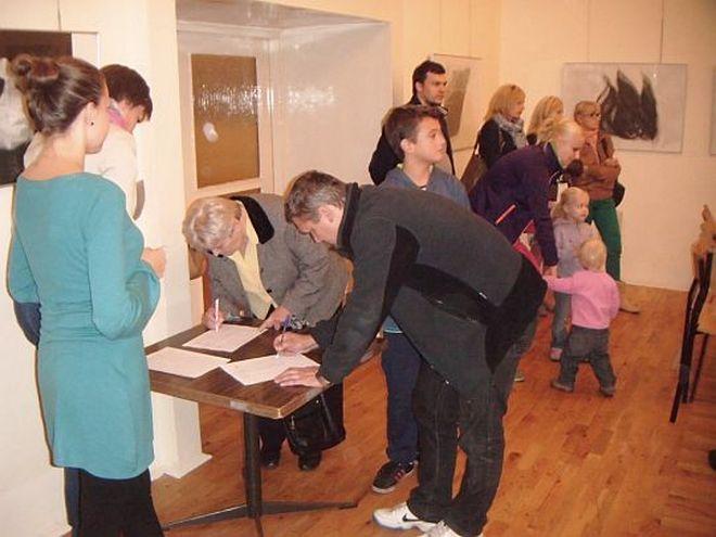 Głosowanie w Chwałowicach
