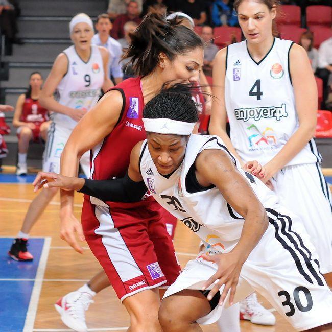 Rebecca Harris była gwiazdą meczu w Gorzowie