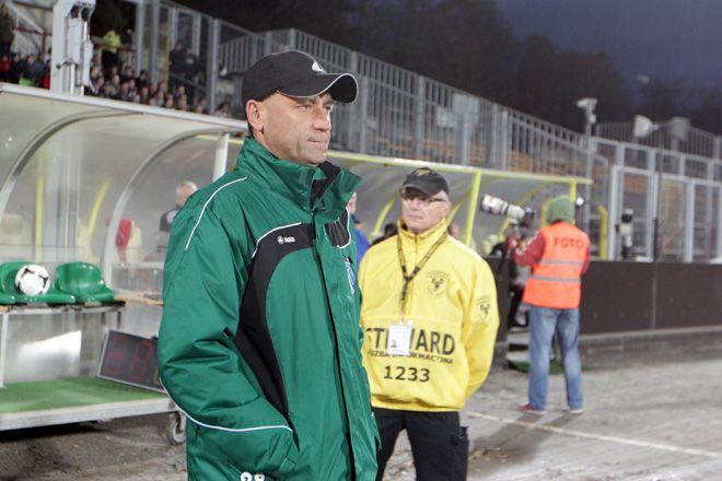 Trener Wieczorek przenosi się do Zabrza