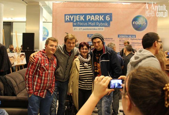 Ryjek Park - tak było roku temu w Focus Mall Rybnik